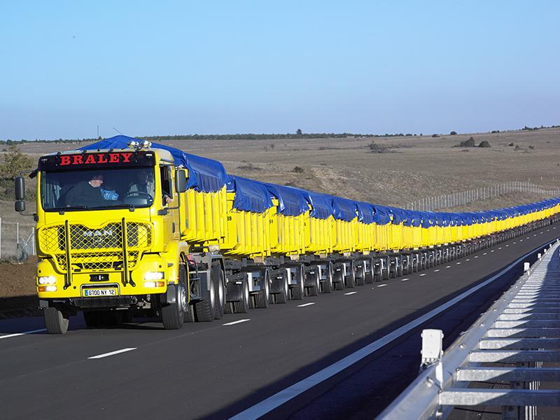 Renault Pont De Bois - Le plus long camion du monde u2013 Tracteur routier occasion renault